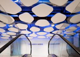 Ghelamco Arena Project, Ghent, Belgium – Gran Prix Winner – Saint-Gobain Gypsum International Trophy