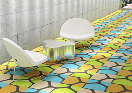 WHY Y Luxury Vinyl Tile (LVT) Collection by Mac Stopa in Collaboration with the Mohawk Group Wins <em>Interior Design</em> HIP Use of Color Award 2014