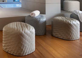River Stone by Mac Stopa Wins <em>Interior Design</em> HiP Honoree Award 2015 in Health & Wellness: Furniture Category