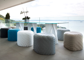 River Stone by Mac Stopa Wins <em>Interior Design</em> HiP Honoree Award 2015 in Hospitality: Outdoor Category
