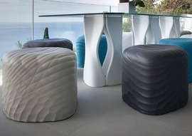 River Stone by Mac Stopa for Tonon Wins <i>Interior Design</i> Best of Year 2015 in Exciting Indoor to Outdoor Solution Category