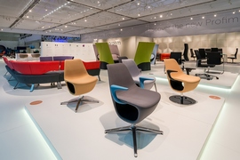 Profim Stand at Orgatec – interior design by Mac Stopa and Massive Design Wins Silver Medal Award from the Polish Chamber of Trade Fairs: Stand of the Year 2014