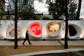 Art Walk Wins <i>Interior Design</i> Best of Year Award 2016 in Outdoor Space Category