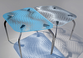 Hybrid Collection Mira Table by Mac Stopa for Casali Wins <i>Interior Design</i> Best of Year Award 2015 in Furniture: Residential/Dining Tables Category