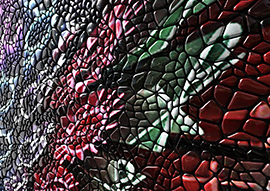 Pebble Collection by Mac Stopa for Mosaico Digitale Wins <i> Interior Design</i> Best of Year Award 2015 in Unexpected Upholstery Surface Category