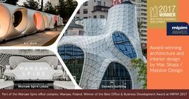Warsaw Spire Complex Wins MIPIM Award 2017 in Best Office & Business Development Category