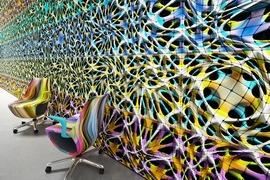 Digital Universe by Mac Stopa for Mosaico Digitale Wins <em>Interior Design</em> HIP Honoree Award 2017 in Technology Category