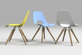 Tauko by Mac Stopa for Nowy Styl Group (distributed in the USA by SIXINCH North America) Wins <em>Interior Design</em> HIP Award 2017 in Workplace/Guest Seating Category